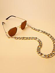 cheap -Alloy Eyewear Eyewear Accessories Set For Holiday Street Golden 1 Piece / Women's