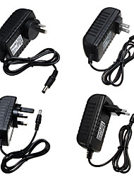 cheap -1pc 12 V US / EU / UK Plastic Power Supply