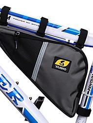 cheap -YANHO® 3.5 L Bike Frame Bag Top Tube Cycling Bike Bag Oxford Cloth Bicycle Bag Cycle Bag Similar Size Phones Outdoor Exercise