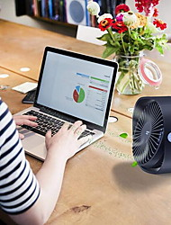 cheap -3 Speed Mini USB Desktop Fan Personal Portable Cooling Fan with 360 Rotation Adjustable Angle for Office Household Traveling