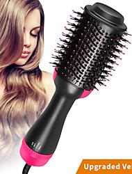 Недорогие -щетка для волос прямая поставка одношаговая щетка для волосгрунтовой генератор отрицательных ионов бигуди выпрямитель для волос инструменты для укладки