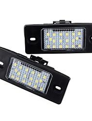 Недорогие -2 шт. Автомобиль светодиодные номерные знаки фонари задние фонари 12 В для Porsche Cayenne VW Touareg