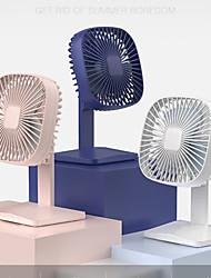 cheap -KONKA Electric USB Fan Rechargeable Desk Office Ventilador Fan Super Mute Laptop Air Cooler Portable 4 Speed Cooling Table Fan