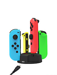 cheap -Charger Kits For Nintendo Switch / Nintendo Switch Lite Portable / Creative Charger Kits ABS 1 pcs unit