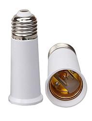 cheap -E27 to E27 95mm Base LED Light  Lamp Bulb Fireproof Holder Adapter Converter Universal Light Converter Socket Change *1pc