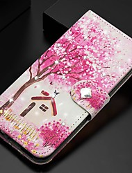cheap -Case For Samsung Galaxy A51/ Galaxy A20e / Galaxy Note 10 Plus Wallet / Card Holder / Rhinestone Full Body Cases Tree PU Leather For Galaxy A71/A10S/A20S/M30S/A2 Core/A10E