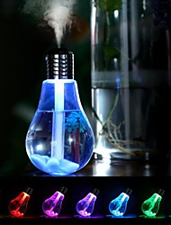 Недорогие -увлажнитель с разноцветной лампочкой 400 мл USB ультразвуковой увлажнитель эфирное масло диффузор распылитель освежитель воздуха