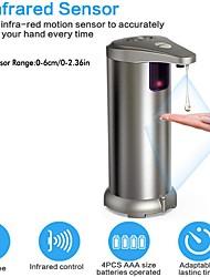 Недорогие -дозатор мыла автоматический индукционный из нержавеющей стали 280000 мл