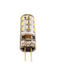 cheap -G4 LED Bulb Bi-Pin Base Lampe Spot 3014 SMD 24 LEDs 220V 20W Halogen Bulb Equivalent 2W Pour Maison 360 Degree White Warm White 1pc