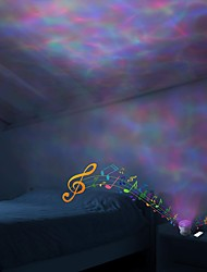 cheap -Projector Lights Diamond LED Lighting Light Up Toy Glow Color Gradient USB Kid's Adults for Birthday Gifts and Party Favors  1 pcs