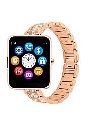 Недорогие -Bluetooth Smart Watch Star 35 фитнес-трекер SmartWatch часы телефон поддержка SIM-карты TF с камерой для Android IOS iPhone Iphone Samsung телефонов LG серебро