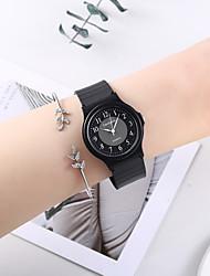 cheap -Women's Bracelet Watch Quartz Watches Analog Quartz Minimalist Cute Creative Casual Watch / One Year / Silicone
