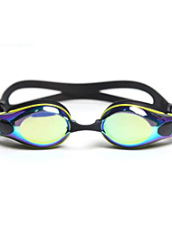 cheap -Swimming Goggles Swimming Goggles Anti-Fog Comfortable Safety For Adults' PC Yellow Green Red