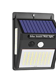Недорогие -Трехсторонняя солнечная настенная лампа двора лампа датчик человеческого тела водонепроницаемая солнечная настенная лампа 1 шт.
