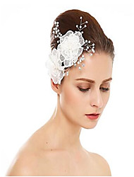 cheap -Imitation Pearl / Rhinestone / Alloy Hair Combs with Rhinestone / Imitation Pearl / Flower 1 Piece Wedding Headpiece