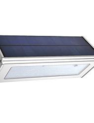 cheap -outdoor Aluminum triangle Shape Solar Radar sensor light IP65 solar led garden light Waterproof wall light