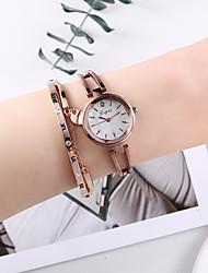 cheap -Women's Bracelet Watch Quartz Watches Quartz Elegant Chronograph Analog Brown / One Year / One Year