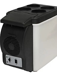 Недорогие -Мини-авто дом кемпинг автомобильный холодильник 6л электрический прохладный холодильник коробки и теплее