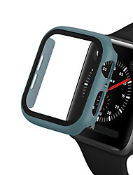 cheap -PC cover For Apple Watch Series 5/4/3/2/1 Protective Shell Case With Tempered Glass Film For iWatch 40mm/44mm/42mm/38mm Watch Case