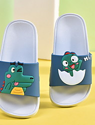 cheap -Girls' Comfort PU Slippers & Flip-Flops Little Kids(4-7ys) Purple / Pink / Green Summer
