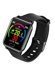 cheap -Y3 Unisex Smartwatch Smart Wristbands Android iOS Bluetooth Waterproof Thermometer Exercise Record Health Care Information Pedometer Call Reminder Activity Tracker Sleep Tracker Sedentary Reminder