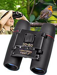 cheap -30 X 60 mm Binoculars Waterproof High Definition Generic Roof Prism 1000/6000 m Fully Multi-coated BAK4 Plastic Rubber Metal / Hunting / Bird watching / Night Vision