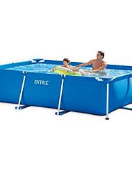 Недорогие -большой детский надувной кронштейн плавательный бассейн дом дети семейная рыбная ферма большой взрослый утолщенный детский бассейн
