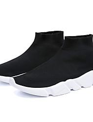 abordables -Homme Automne Classique Quotidien Chaussures d'Athlétisme Tissage Volant Respirable Noir / Orange / Gris