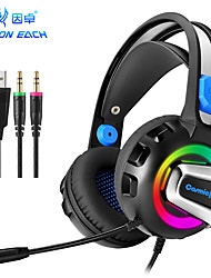 cheap -KOTION EACH G3300 Headphone with Clear Sound LED Headphone with Mic Game Headphone Wired Headphone