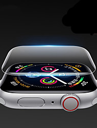 Недорогие -защитная пленка для яблочных часов iwatch серии 5 4 3 2 1 гидрогель полная защитная пленка для яблочных часов 38мм 40мм 42мм 44мм
