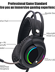 cheap -LITBest K1 Gaming Headset Wired Stereo with Volume Control HIFI Microphone for Gaming