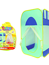 cheap -Play Tent & Tunnel Playhouse Tent Cartoon Foldable Convenient Parent-Child Interaction Polyester Indoor Outdoor Spring Summer Fall Pop Up Indoor/Outdoor Playhouse for Boys and Girls