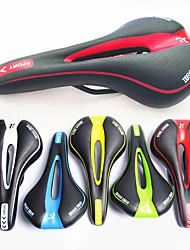 cheap -Bike Saddle / Bike Seat Breathable Comfort Padded Hollow Design Polycarbonate Cycling Mountain Bike MTB Fixed Gear Bike Black / White Black / Red Black / Green / Thick / Ergonomic / Ergonomic / Thick