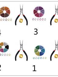 cheap -Personalized Customized Women's DIY Jewelry Findings Kit Handmade 1pc / pack Blue Rainbow
