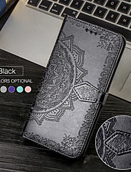 cheap -Embossed Magnetic Flip Leather Wallet Protection Cover Phone Case For OnePlus 8 Pro OnePlus 7 Pro One Plus 7T Pro OnePlus 6T One Plus 6 Card Holder Stand