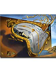 ieftine -imprimeu panouri laminate pe pană - abstract still life modern print imprimeu ceas de artă de salvador dali poster pictură abstractă modernă tipărită pictură pictură imagini cuadros pentru living home