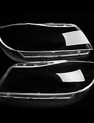 Недорогие -Пара автомобилей ксеноновые фары стеклянная лампа объектива пластиковая крышка для BMW 3 E90 E91