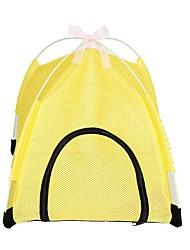 cheap -Cat Bed Mats & Pads Terylene Portable Tent Yellow Pink Blue