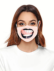 cheap -Women's Face cover Spandex Basic Halloween MouthMask Fall Winter Spring Summer Unisex