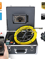 cheap -7inch DVR 50M HD1080P Drain Sewer Pipeline Industrial Endoscope Pipe Inspection Video Camera with DVR Video Recording / WIFI Wireless / Photo Editing