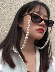 cheap -Beaded Alloy Eyewear Eyewear Accessories Set For Holiday Street Accent / Decorative Golden 1 Piece / Women's