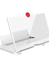 Недорогие -тянуть typer усилитель сотового телефона 3D эффект высокой четкости большой экран с держателем стола увеличительное складывание для игры в кино