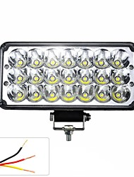 cheap -DC12-85V 7inches 42W Universal LED Aluminum Alloy Motorcycle Headlights Work Lamp