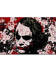 Недорогие -печать на холсте отпечатки на холсте - абстракция натюрморт современные репродукции картины джокер фильм рисунок плаката живопись печать современное граффити искусство холст рама картины на стенах