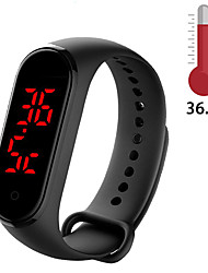 cheap -M8 Smart Band Body Temperature Smart Bracelet Precise Display Smart Band Clock Time Hours Smart Wristband Watch Men Women