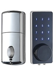 cheap -Password-sensing Remote Control Lock, Lock By Yourself, Front And Back Sliding Door Password Lock, Door Office Password Sensing Lock