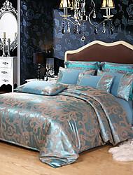 Недорогие -комплекты постельного белья из европейского жаккардового сатина из четырех частей 1,5 м 1,8 м 2 большой одноместный двухместный