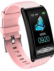 Недорогие -P10 Универсальные Умные браслеты Android iOS Bluetooth Водонепроницаемый Сенсорный экран Измерение кровяного давления Медобеспечение ЭКГ + PPG