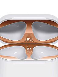 Недорогие -новые защитные наклейки для аэродромов наклейка с рисунком кожи пылезащитный чехол для наушников наклейка защита для аксессуаров apple air pods