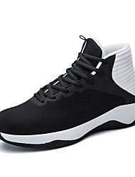 cheap -Men's Fall / Spring & Summer Sporty / Casual Daily Outdoor Trainers / Athletic Shoes Basketball Shoes / Walking Shoes Mesh Breathable Non-slipping Height-increasing Black and White / Black / Blue